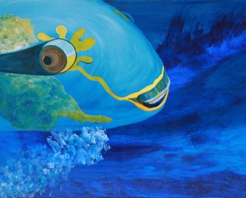 24x36 Acrylic on Canvas $400.00