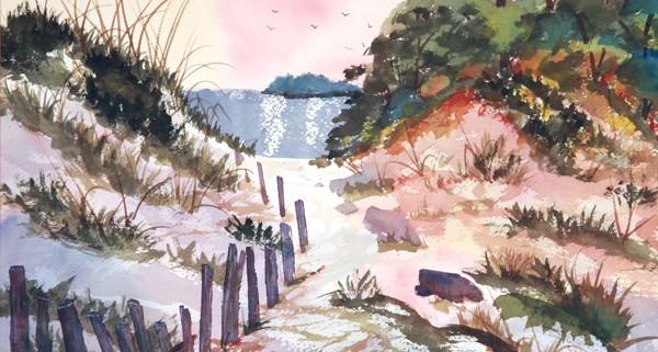 11x15 Watercolor $75.00