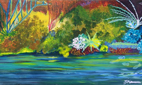 12x24 Acrylic on Canvas $75.00