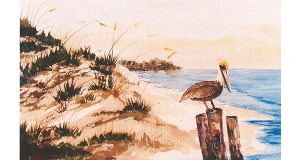 Pelican 7x5 Note Card