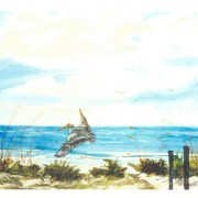 Gulf 7x5 Note Card